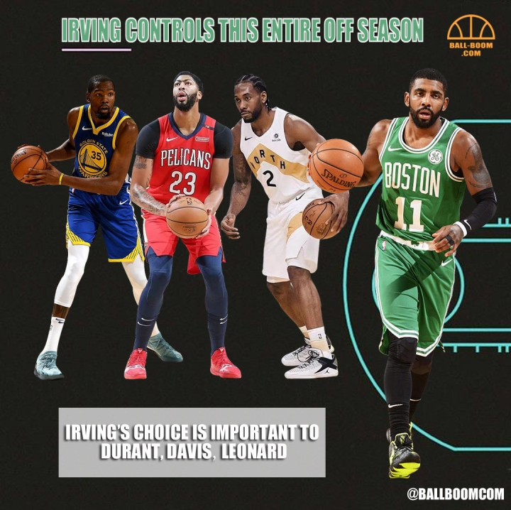 IRVING CONTROLS THIS ENTIRE OFFSEASON