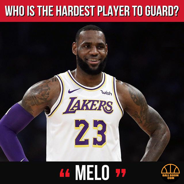 """9 NBA stars answered """"Who is the hardest todefend"""""""