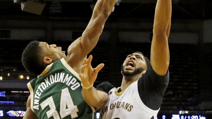 Giannis on Davis: 'I'd focus on just playing basketball'