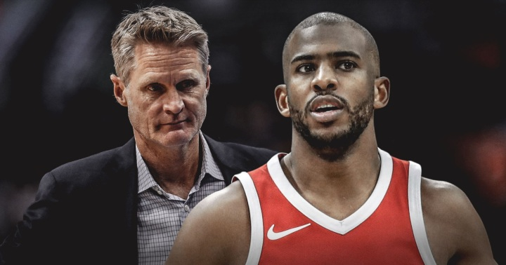 Rockets are 2nd team to beat Steve Kerr's Warriors 3 times in a season