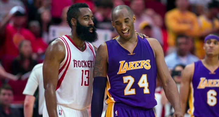 JAMES HARDEN RESPONDED TO KOBE BRYANT'S COMMENTS