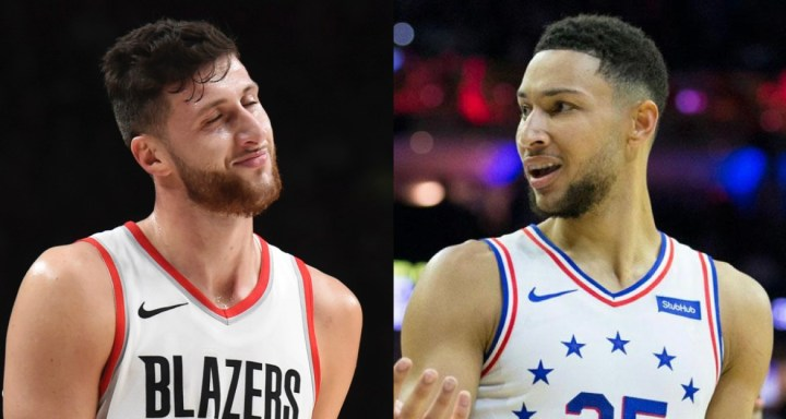 Jusuf Nurkic Called Out Ben Simmons AfterConfrontation