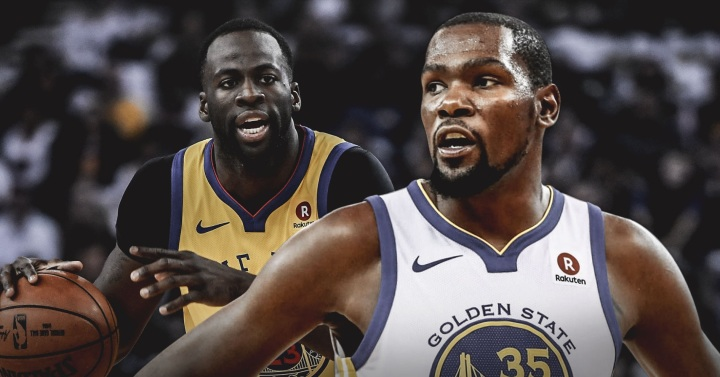 Warriors star Kevin Durant says Draymond Green being healthy for the playoffs is what matters