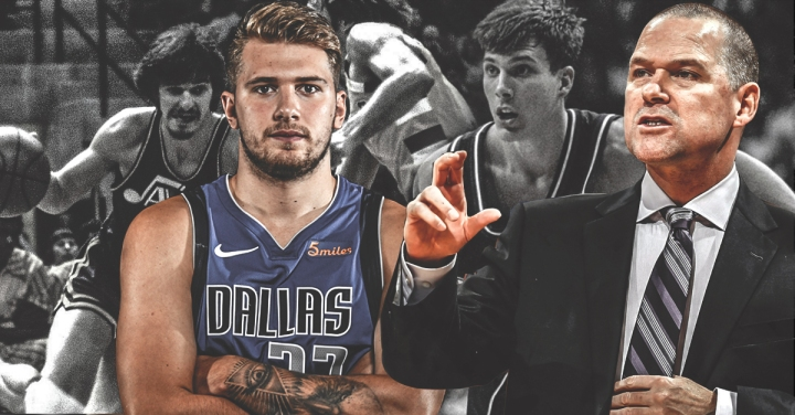 Nuggets coach Michael Malone admits Mavs' Luka Doncic's flair reminds him of Pistol Pete, Jason Williams