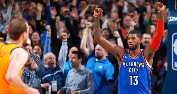 NBA Stars React to Paul George'sGame-Winner