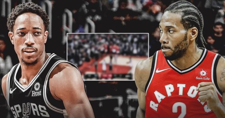 Raptors fans gives Kawhi Leonard 'MVP' chants in match-up with Spurs' DeMarDeRozan