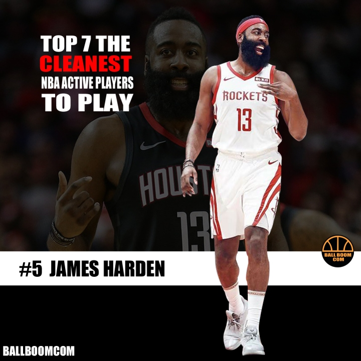 Top 7 the cleanest NBA active players to play