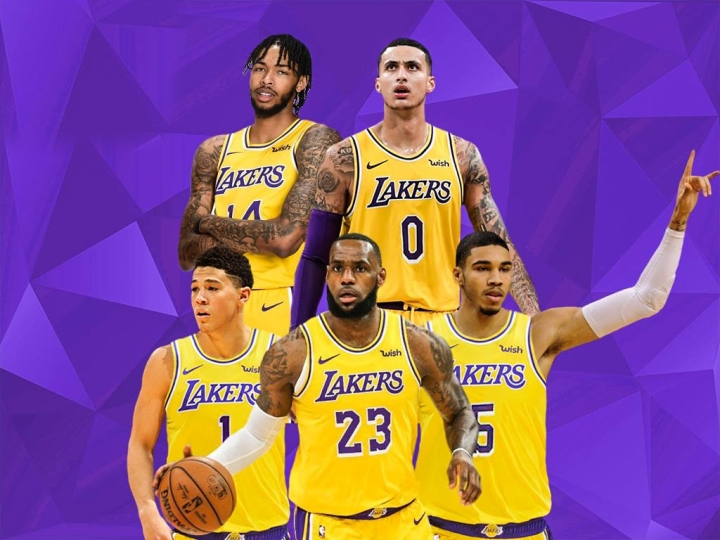 Lakers Young Superteam If They Didn't Select Lonzo Ball And D'Angelo Russell